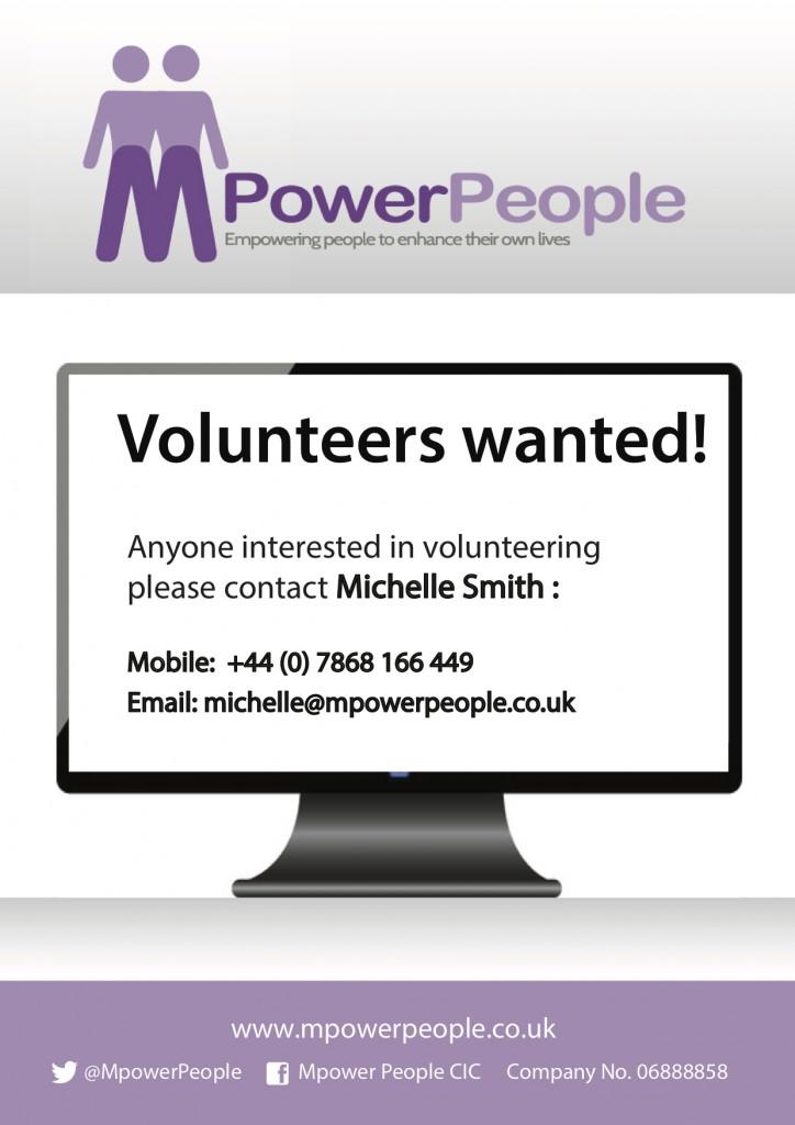 volunteers poster