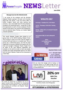 Mpower People CIC Newsletter (1) June 2016 copy