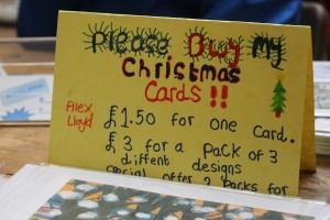 Christmas cards by Alex