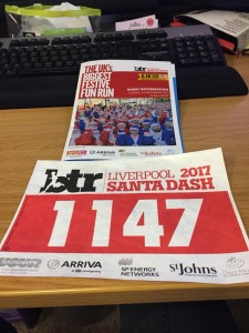 Our first race number